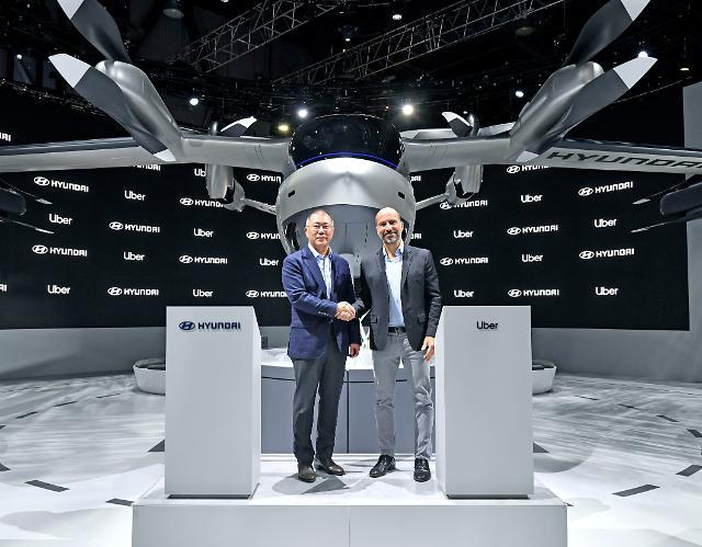 [CES 2020 포토] 현대차-우버, UAM 분야 협력 계약 체결