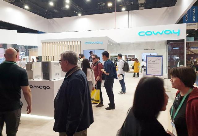 [CES 2020] 혁신성에 실용성까지 갖췄다...코웨이, 생활가전 제품 주목