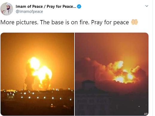 [진실 혹은 거짓] 이란, 미국(이라크 주둔 미군) 타격 영상..가짜 영상 속지 않아야