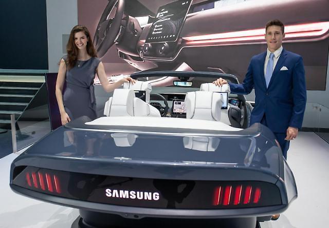 [CES 2020]世界初の5G車両が走る…サムスン電子、BMWにTCU供給