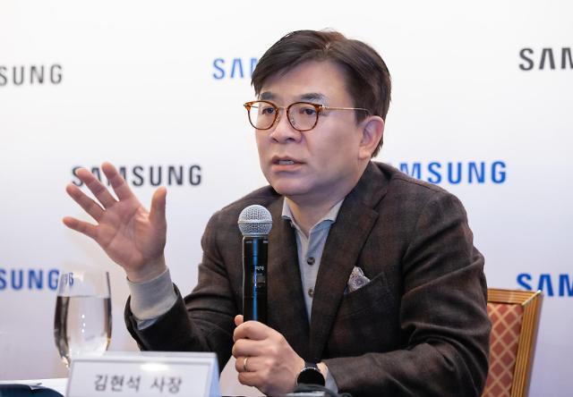 """[CES 2020] 김현석 사장 """"올해 중순 가정용 로봇 출시한다"""""""