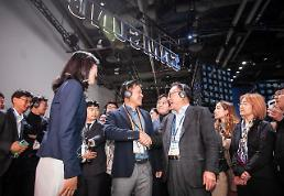 .[CES 2020] Samsung and SK Telecom join hands to cooperate in AI development.