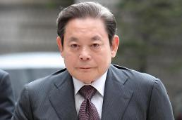 .9年间韩国大企业掌门人股票价值变化大.