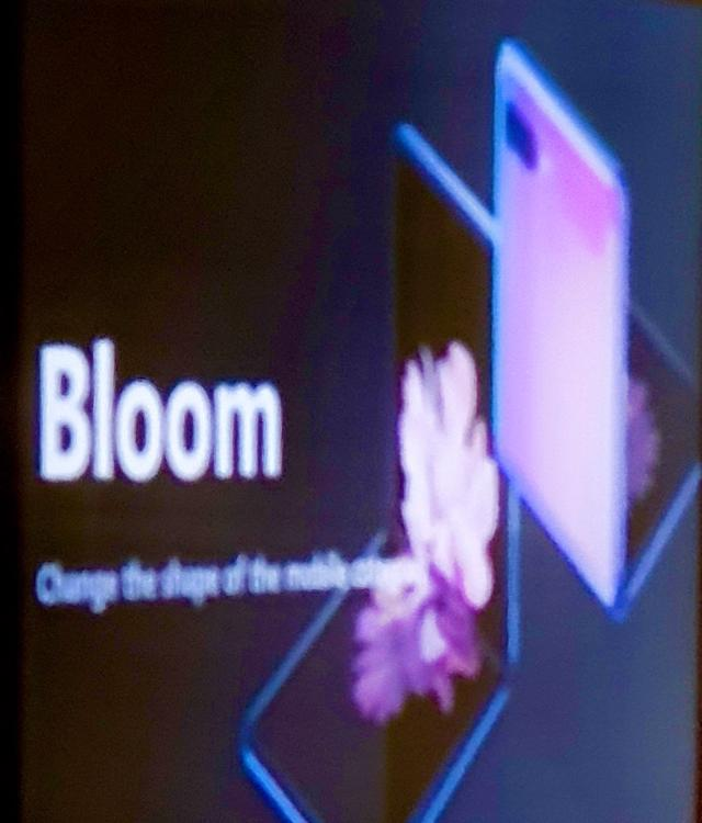 [CES 2020] Samsungs new foldable phone called Bloom like Lancome compact