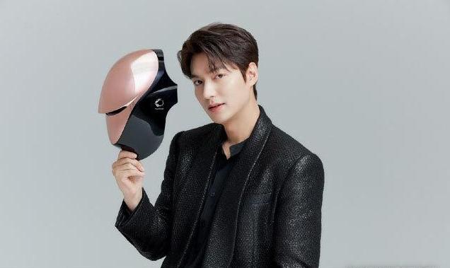 韩流巨星李敏镐成高端LED面罩美容仪代言人