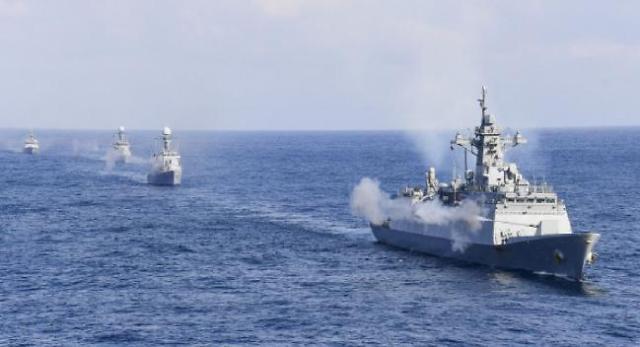 해군, 함정 10척·링스헬기 투입해 올해 첫 대잠훈련 실시