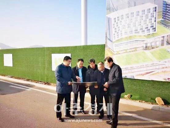 중국 에너지 건설그룹, 옌타이 고신구 시찰 [중국 옌타이를 알다(428)]
