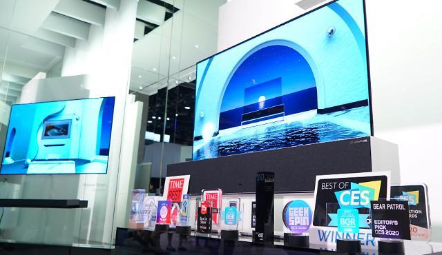 LG电子在CES获119项大奖 电视产品超半数