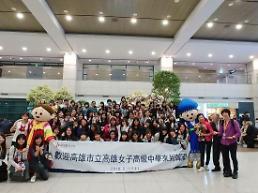 .3500名中国青少年赴韩修学旅行 .