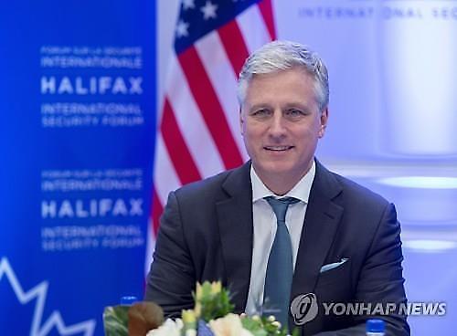 """白宫安全顾问:""""美国向朝鲜转达恢复对话的意愿"""""""