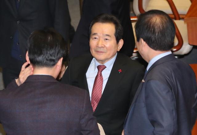 정세균 총리 임명동의안 국회 통과···문재인 대통령 지명 29일만