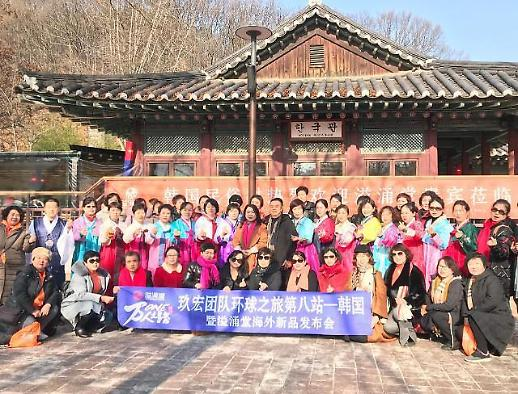 重返的游客...中国国家主席访韩行程将至 韩中关系处处透露恢复信号