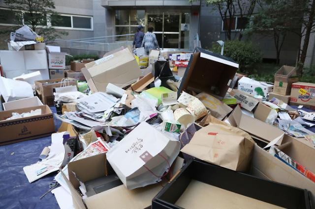 春节假期期间 首尔市各区将中断垃圾回收工作