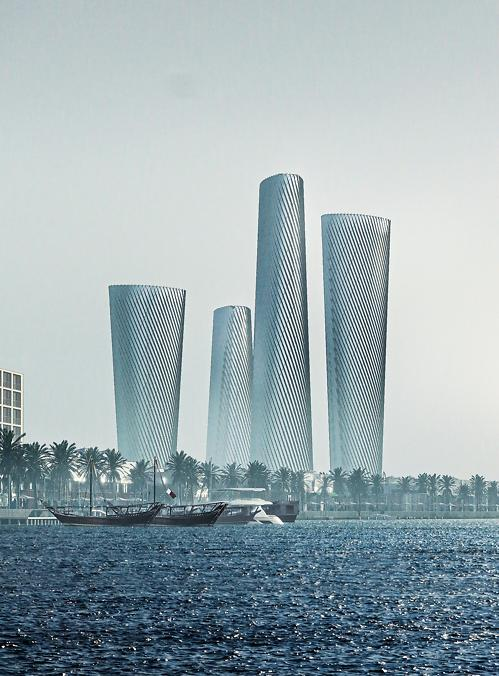Hyundai E&C wins new order to build high-rise building Qatar smart city