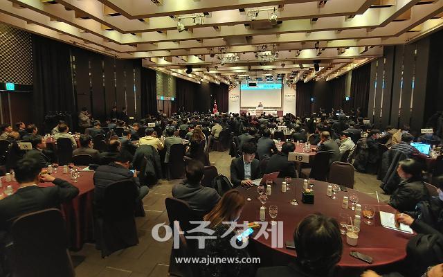 """[현장] """"벤처 시대 왔다""""…2020 벤처업계 신년회 개최"""
