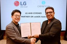 LG steps up push for car infotainment through partnership with Cerence