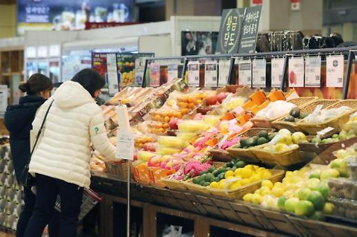 韩家庭食品消费支出占比创近五年新低