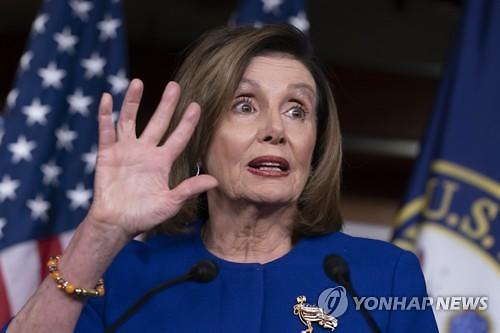 美하원, 트럼프 탄핵안 상원 전달...상원서 부결될 듯