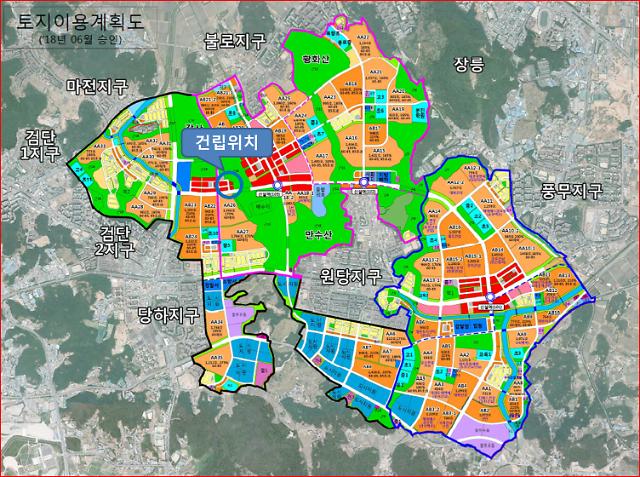 인천시 100주년 기념도서관, 검단신도시 2단계 공원내 시설로 건립 추진