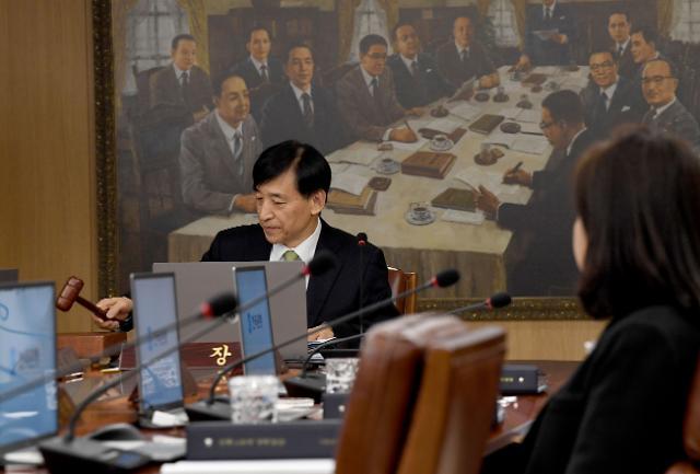 한국은행, 기준금리 1.25%로 동결 결정
