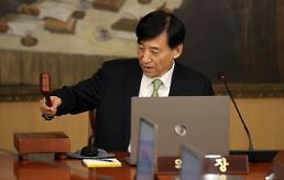 .韩国央行维持基准利率1.25%不变.