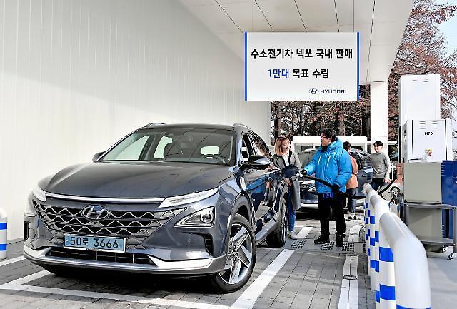 """现代汽车集团今年将销售1万辆Nexo 扩大电动车投资 """"掌握环保车主导权"""""""
