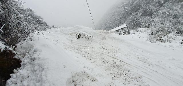 네팔 안나푸르나 실종 사고 수색 난항…강설로 추가 눈사태 우려