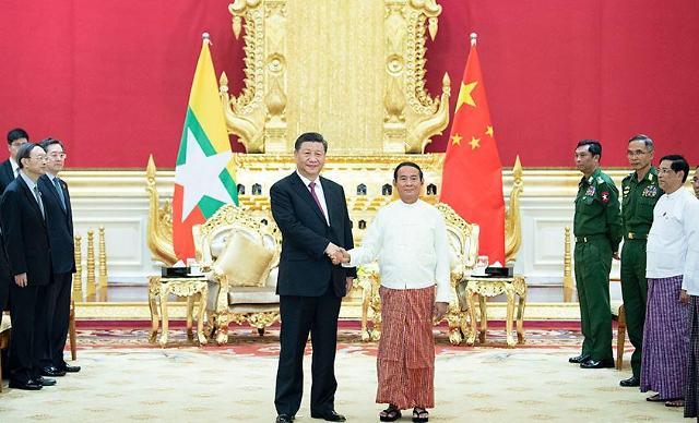 中 시진핑, 미중 1단계 무역합의 직후 미얀마 방문 이유는?