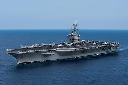 .美战略武器纷纷临近韩半岛引关注.