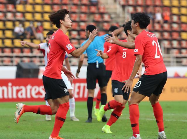 한국, 요르단戰 94분 극장골 2-1 승…올림픽 눈앞