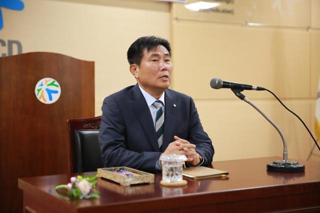 인천도시공사 제11대 이승우 사장 취임