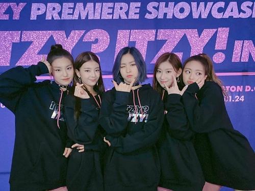 韩国女团ITZY开启美国巡演