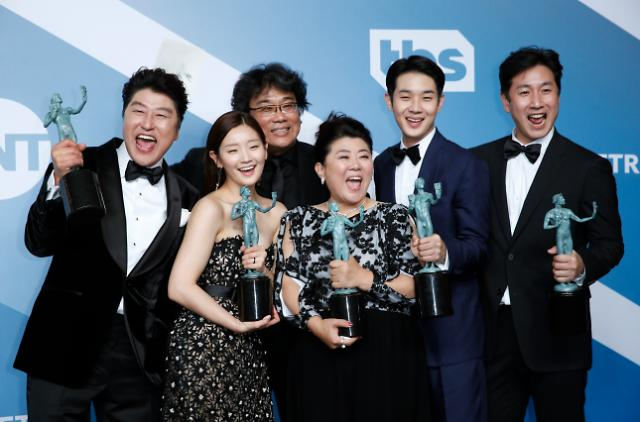 「パラサイト 半地下の家族」全米映画俳優組合賞で最高賞を受賞・・・非英語圏で初めて