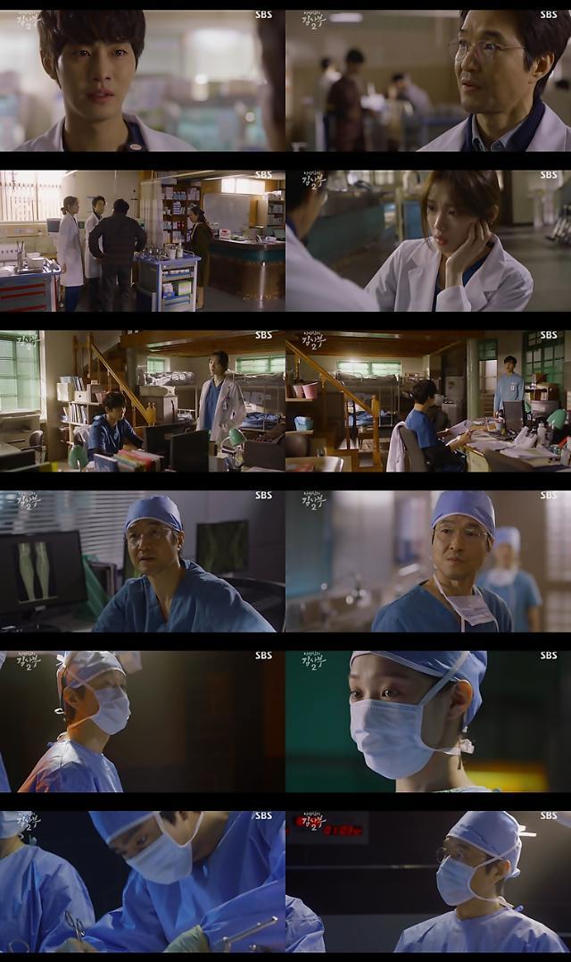 [간밤의 TV]'낭만닥터 김사부 2' 한석규-이성경-안효섭, 수술실 입장···'新 돌담져스'합체