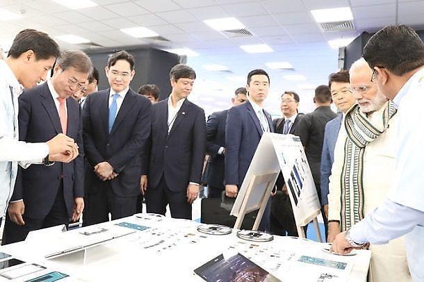 三星将投资5亿美元在印度建立显示器工厂