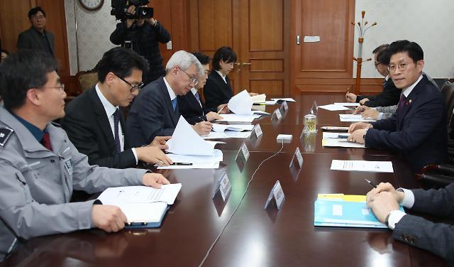 韩政府加强新型冠状病毒防疫工作