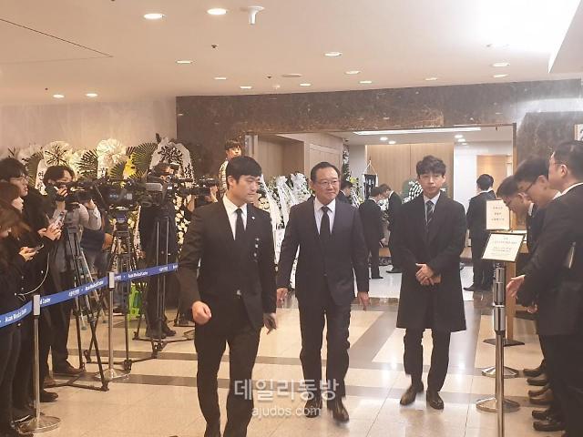 [신격호 빈소] 김범석 쿠팡 대표 삼가 고인의 명복을 빕니다