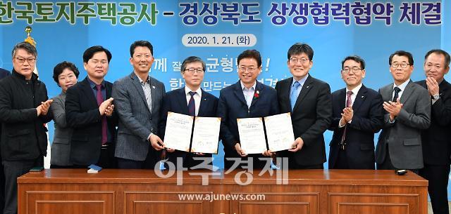 경북도, 한국토지주택공사와 지방소멸극복 위해 상생협력