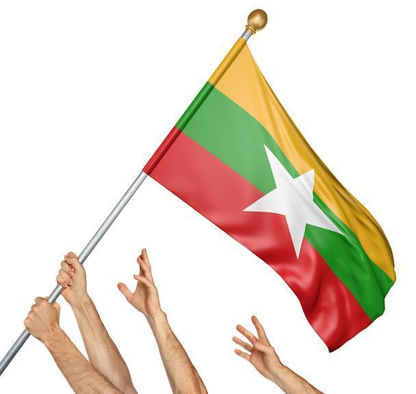 [NNA] 미얀마 양곤 노동자들, 최저임금 2배인상 요구 시위