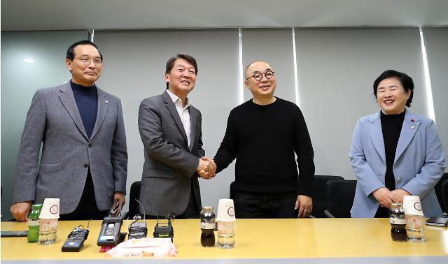 """카이스트 방문한 안철수…""""4차산업혁명 시대 인재 10만명 양성 필요"""""""