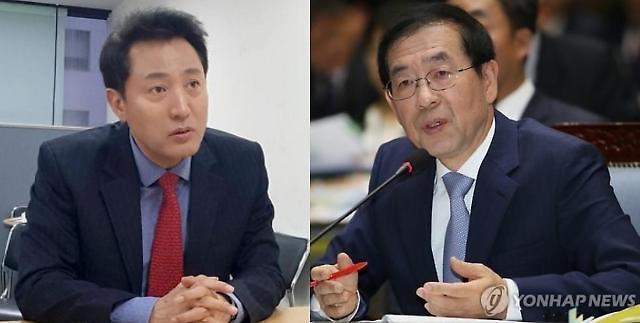 """""""오세훈의 100층 vs 박원순의 35층""""…다시 맞붙은 한강변 초고층 논쟁"""