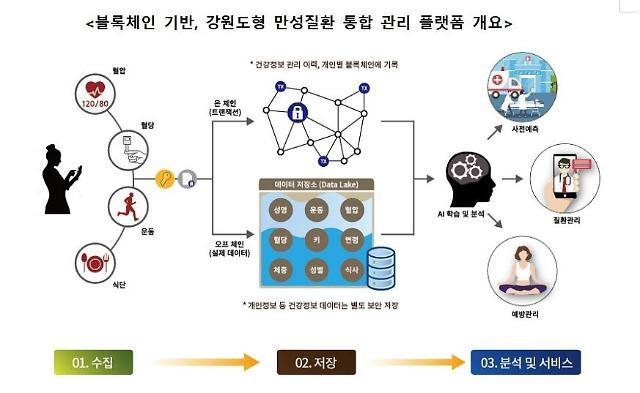 블록체인 기반 만성질환 관리 플랫폼 구축··· 강원도 사각지대 환자에 효과