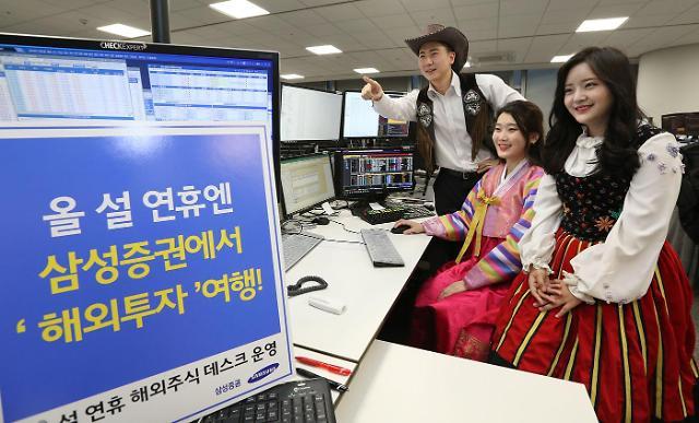 """""""설 연휴에도 해외 주식 투자하세요"""""""