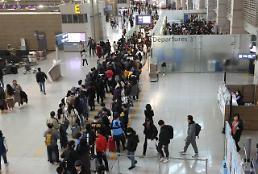 .2019年韩国境内机场发送旅客人数达1.6亿人次 .
