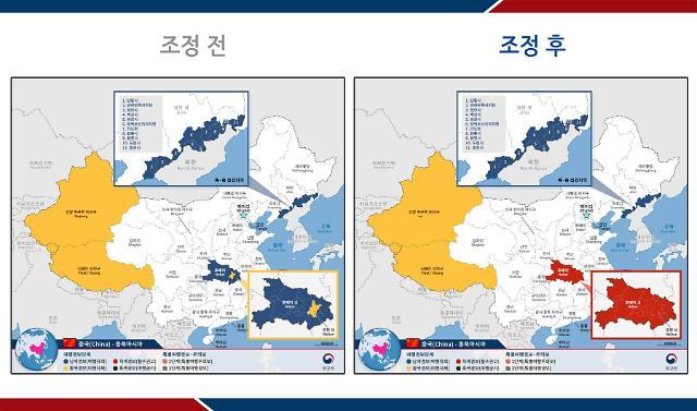 韩国上调湖北省旅游安全预警