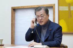 .韩总统表示24小时响应新冠肺炎疫情.