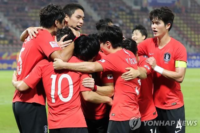한국, U-23 챔피언십 퍼펙트 우승…정태욱 결승골