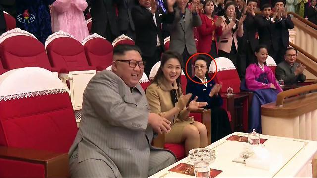 [포토] 김일성 딸 김경희, 남편 처형 후 첫 공식행사