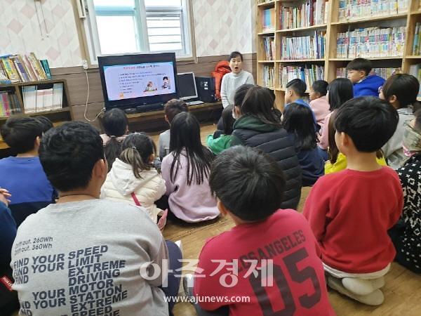 논산시, 지역아동센터와 함께하는 겨울 방학 건강가꾸기 '호응'