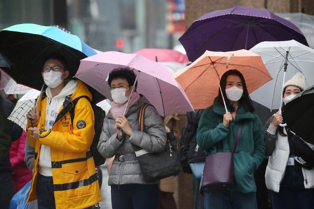 [포토] 전세기 띄운 일본, 걱정스런 일본 시민들